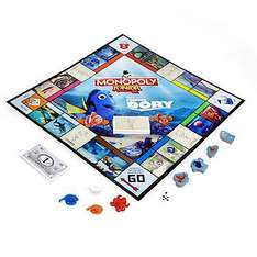 Monopoly Junior Finding Dory Edition Game - 60% off WAS £18 NOW £7.20 @ The Entertainer (£3.99 del or Free C&C over £10)