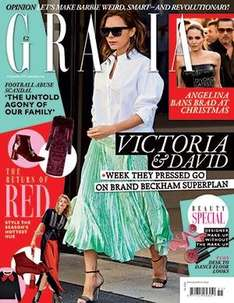 4 printed issues of Grazia magazine and free Vita liberata tanning kit worth £51.50 for £4 plus Empire offer in post @ Great Magazines
