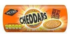 Jacob's Cheddars or with Bacon (150g) was £1.10 now 50p until Tuesday 7th February 2017 @ Morrisons