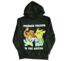 Pokemon trainer hoodie ages 4 - 13 years was £12.99 now £9.74 @ Argos