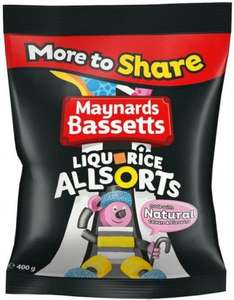 Bassetts Liquorice All Sorts (500g) ONLY £1.00 @ Poundstretchers (Instore and Online)