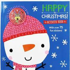 Happy Christmas Activity Book @ The Works - £1