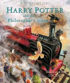 Harry Potter and the Philosopher's Stone Illustrated Hardback Edition - Free Delivery Worldwide - £15 at Book Depository