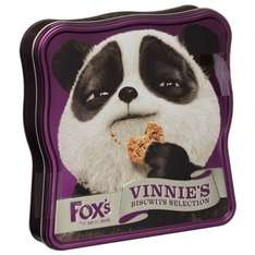 B&M Stores Fox's Vinnie's Biscwit Selection Tin 365g £1.99 In Store Manager's Special