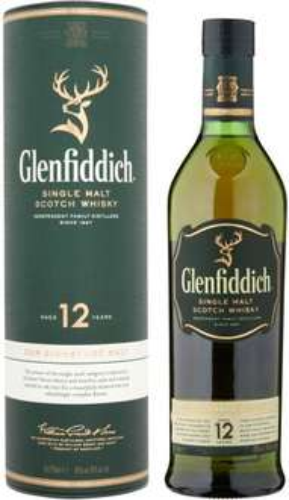 Glenfiddich 12 Year Old Malt Whisky, 70 cl - £22.49 @ Amazon