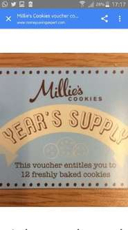 £49.99 for 144 Millie's Cookies@Millie's Cookies