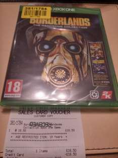 Borderlands: the handsome collection Xbox One/PS4 - £16.50 @ Argos