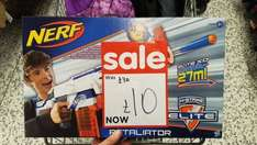 Nerf N-Strike Retaliator reduced from £30 to just £10 at Asda Bournemouth (St Pauls)!