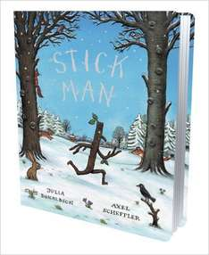 Stick Man board book £2.99 prime / £5.98 non prime @ Amazon