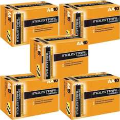 30 DURACELL INDUSTRIAL AA BATTERIES PROFESSIONAL £8.19 @ BargainShop_London / Ebay