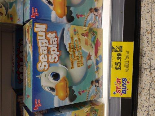 Seagull Splat Game £5.99 instore @ Home Bargains