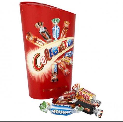 Celebrations 240g £1.50 @ Tesco from tomorrow