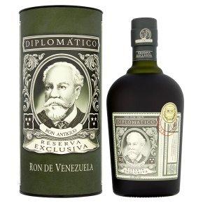 Diplomatico Reserva Exclusiva Dark Rum 70cl £35 @ Waitrose