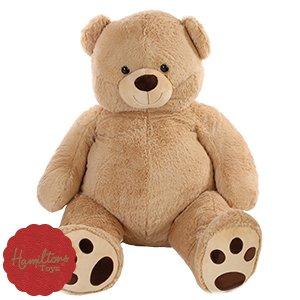 """Hamilton Bear Large Plush 5ft 5"""" Soft Cuddly Bear £29.99 @ Home Bargains"""