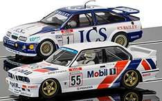 Scalextric Touring Car Legends Twinpack - Ford Sierra RS500 and BMW E30 by Corgi £55.95 @ Amazon