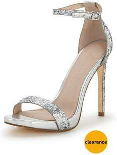 Glitter Party Heels  £12.50 (free collect+) @ Very