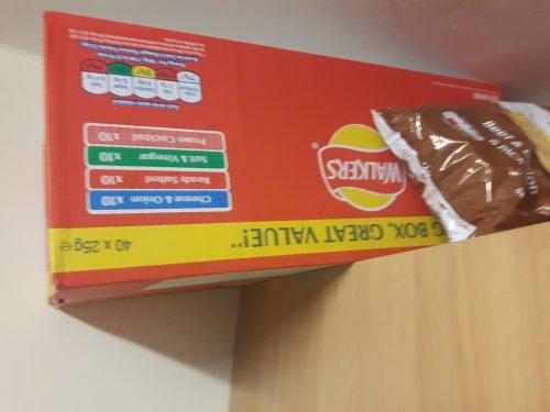 walkers 40 box crisp £1 instore @ Tesco