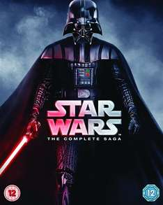 Star Wars - The Complete Saga I-VI 9Disc bluray £25 CEX (preowned)