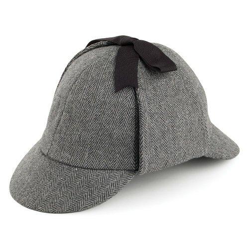 deerstalker hat, hatsandcaps.co.uk £21.95