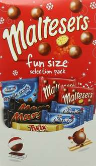 Maltesers Funsize Collection Pack, 150 g - Pack of 10 £8.99 (Prime) @ Amazon