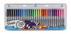 Sharpie Permanent Markers Assorted 28 Pack, Now £4.95 @ TescoDirect (Free C&C)