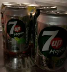7up cans 10p in store only! @ Home Bargains
