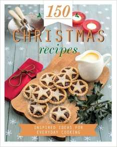 150 Christmas Recipes (Hardback) Was £4.99 Now £1.00 @ The Works. Free C&C