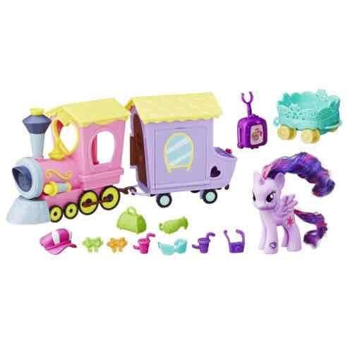 My Little Pony Friendship Express Train Playset £5.61 Tesco Direct