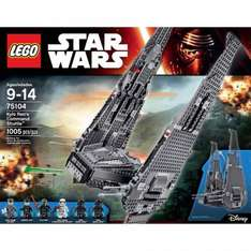 Lego Star Wars Kylo Rens Shuttle 71504 £47.01 Tesco