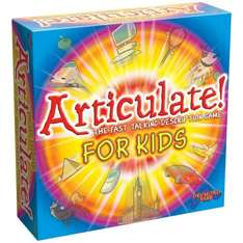 Articulate for kids.  lowest price ever, £9.39 (Prime) / £14.14 (non Prime) at Amazon