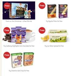 Freebies! Add these to you basket on your next Sainsbury online shop.