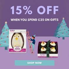 Moonpig has 15% off £25 spend on gifts