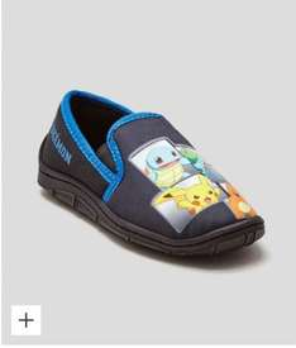 Boys Pokemon Slippers £9.00 @ Matalan sizes 8-2