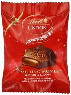 Lindor My Melting Moment 20 g (Pack of 33) £10.90   (Prime) / £15.65 (non Prime) at Amazon