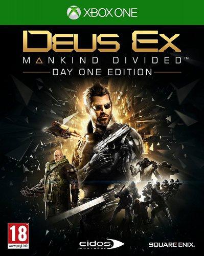 Deus Ex: Mankind Divided Day One Edition Xbox One @ amazon.co.uk - £16.99 (Prime) / £18.98 (Non Prime)