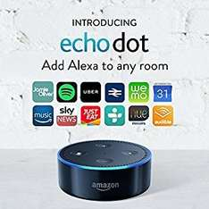 Amazon Echo Dot (2nd Generation) - down to £44.99 on Amazon or £42.49 if buying two using code