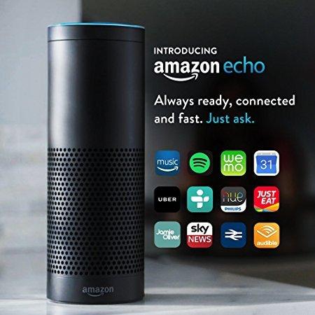 Amazon Echo - now £129.99 on Amazon