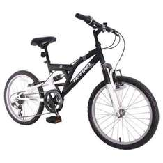 Black boys terrain suspension bike **£70.00 Tesco Direct