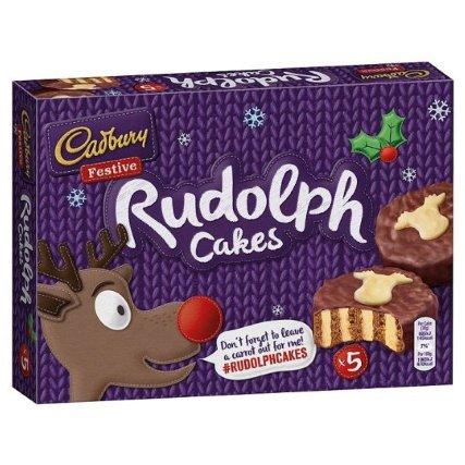 Cadbury's Rudolph Cakes £1.49 in B&M