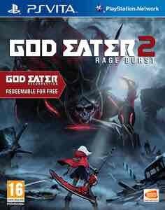 God eater 2 rage burst (PS vita) includes God eater resurrection £17.09 with code XMAS @ Zavvi
