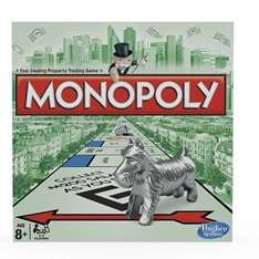 Monopoly Board Game £7.90 Prime / £12.65 Non Prime @ Amazon