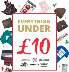 M and M Direct under £10.00 clothing bargains.