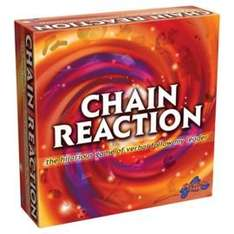 Chain Reaction board game £8.14 with free C+C from Tesco