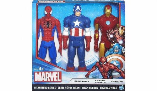 Marvel Titan Hero Series 3-Pack Action Figures £19 Asda