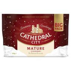 Big Pack Cathedral City Mature Cheddar 550G Now £3.00 @ Tesco