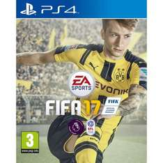 FIFA 17 - Smyths £39.99 (cheapest I can see by £4)