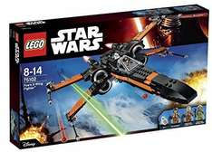 lego star wars  poe X Wing £43.88 Amazon