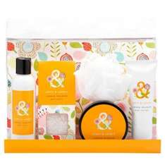 Leafy & Lovely Summer Meadow Pampering Gift Set £1.99 (was £10) @ Superdrug  {body wash, pack of bath salts, body lotion, body scrub and white shower body puff}