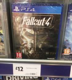 Fallout 4 (PS4) - Morrisons Instore - £12