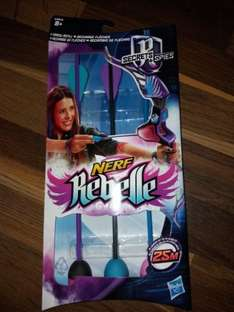 nerf rebelle arrows instore at Home Bargains for 99p